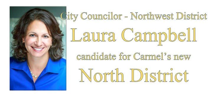 Laura Campbell Republican Member of Carmel City Council